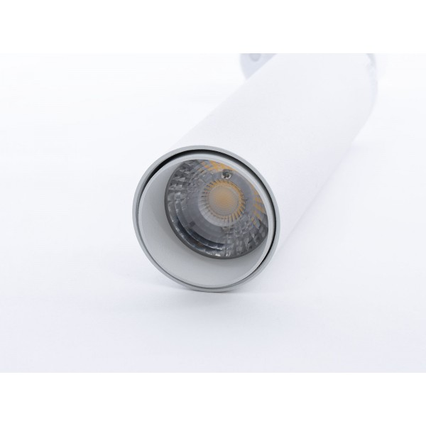 Proiector LED 7W pe sina Corp Alb Cip Samsung Alb Cald
