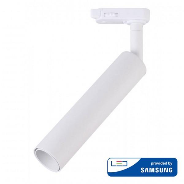 Proiector LED 15W pe sina Corp Alb Cip Samsung Alb Neutru