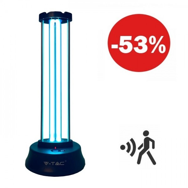 Lampa germicidala cu senzor du...