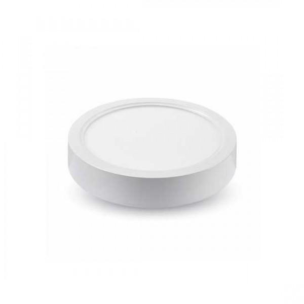 Panou LED 6W Rotund Premium Alb Rece