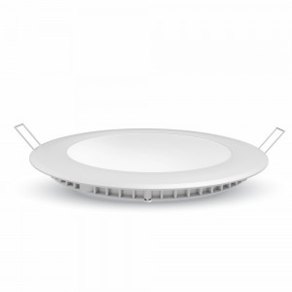 Panou LED 22W Slim Rotund Alb ...