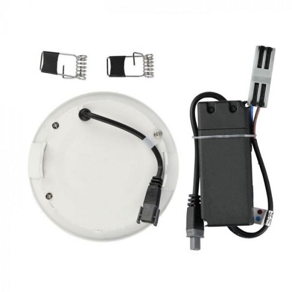 Panou LED 18W Premium Cip SAMSUNG Rotund Alb Neutru
