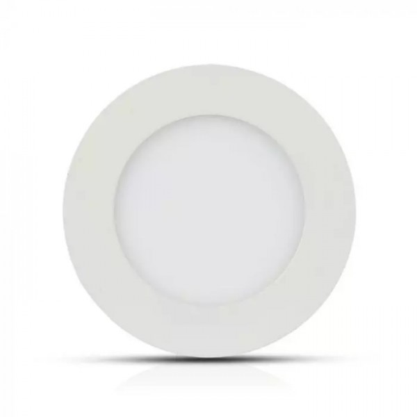 Panou LED 18W Premium Cip SAMSUNG Rotund Alb Rece