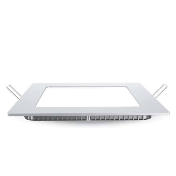 Panou LED 12W Premium Cip SAMSUNG Patrat Alb Cald