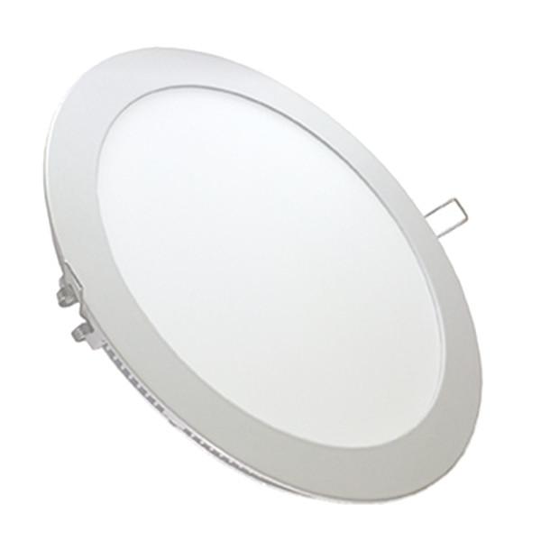 Panou LED 6W Premium Cip SAMSUNG Rotund Alb Cald