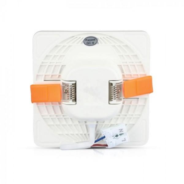 Panou LED 24W montaj ajustabil Cip SAMSUNG Patrat Alb Neutru