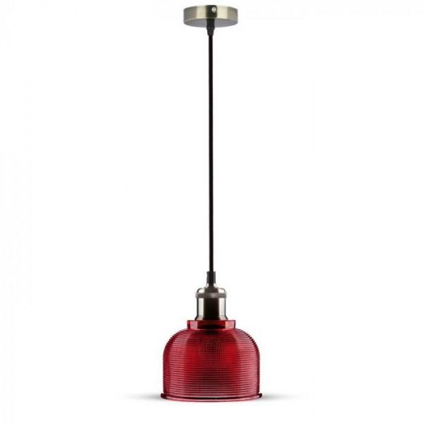 Pendul Sticla Rosie Ф145mm