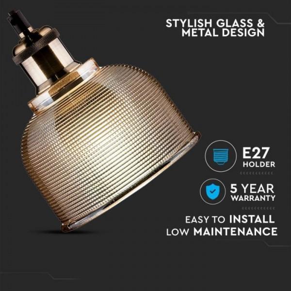 Pendul Sticla Chihlimbar Ф145mm