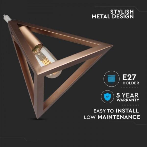 Pendul Geometric Triunghi Auriu