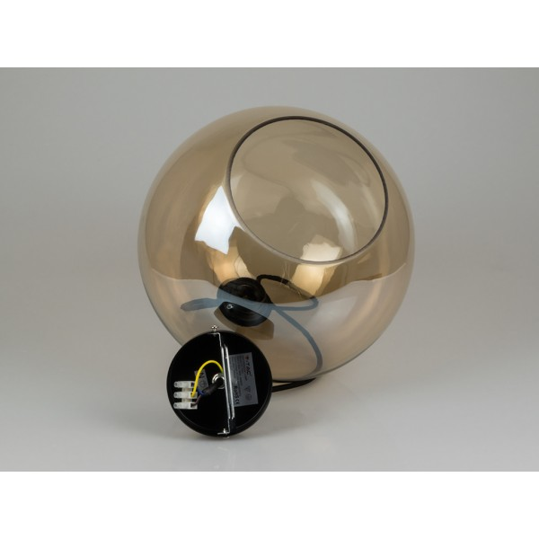 Pendul Sticla Glob Amber Ф300mm
