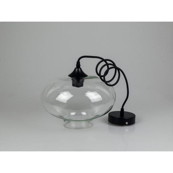 Pendul Sticla Glob Transparent Ф265mm