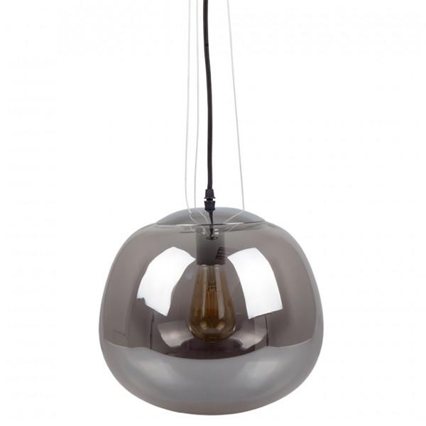 Pendul Modern Sticla Gri Ø380mm