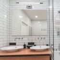 Corp de iluminat cu LED 12W crom pentru tablou sau oglinda Alb Neutru