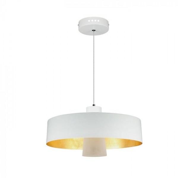Pendul LED 7W Abajur Alb Acrilic Alb Cald