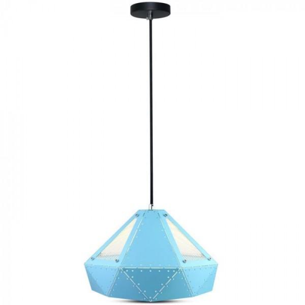 Pendul Pastel Prismatic Albastru