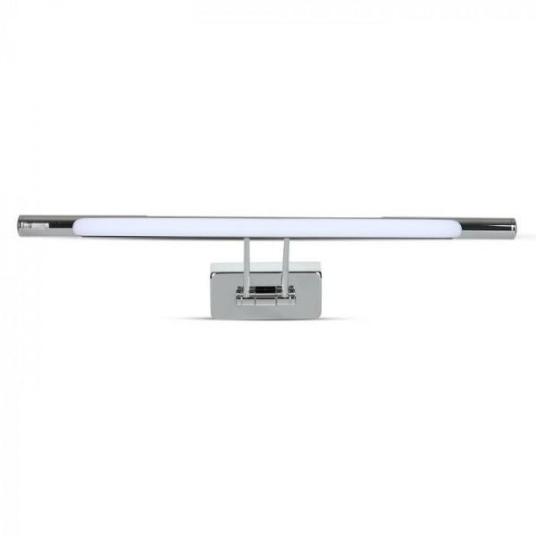 Lampa LED 12W crom pentru tablou sau oglinda Alb Cald