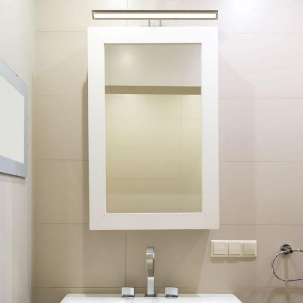 Corp de iluminat cu LED 8W auriu pentru tablou sau oglinda Alb Cald