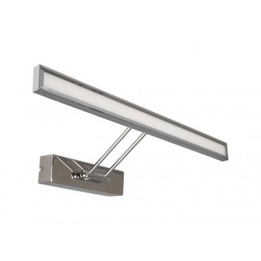Lampa LED 8W crom pentru tablou sau oglinda Alb Neutru