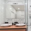 Lampa LED 8W crom pentru tablou sau oglinda Alb Cald
