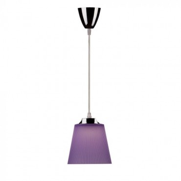 Pendul LED 7W Corp Violet Crom Alb Neutru