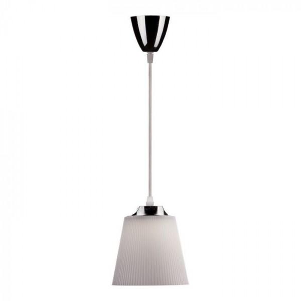 Pendul LED 7W Corp Alb Crom Al...