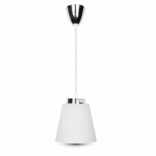 Pendul LED 7W Corp Alb Crom Alb Neutru