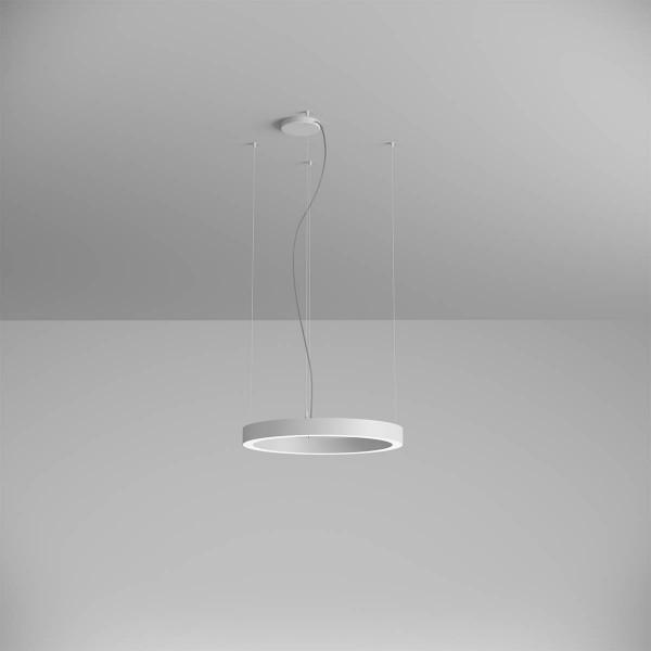 Pendul LED rotund 38W XAMBIT alb 600mm Alb Neutru