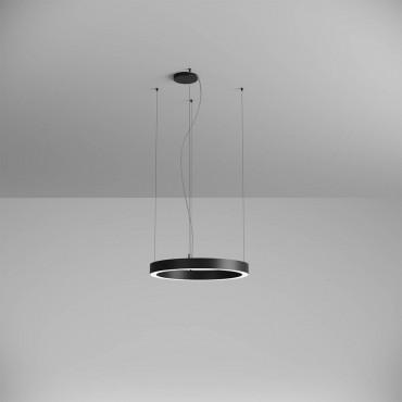 Pendul LED rotund 38W XAMBIT negru 600mm