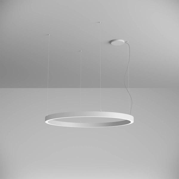Pendul LED rotund 75W XAMBIT alb 1200mm ...