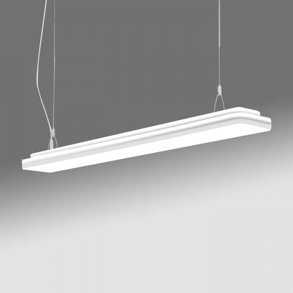 Pendul LED dimabil 37W ELEGANCE SCHRACK 120cm IP44 lumina calda