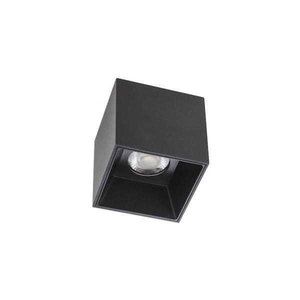Plafoniera LED patrata 6W XCORE Corp Negru Alb Neutru UGR<10
