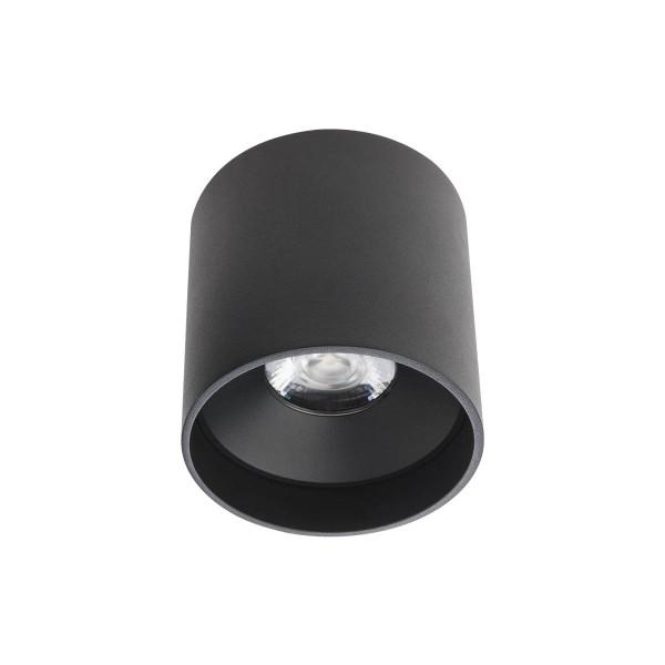Plafoniera LED rotunda 18W XCORE Corp Negru Alb Neutru UGR<10