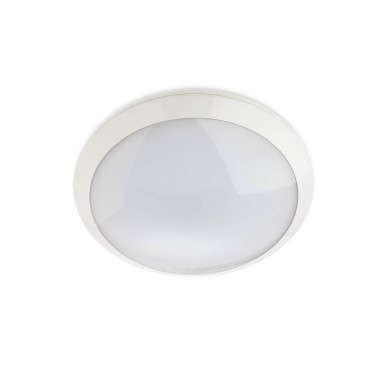 Plafoniera LED etansa cu senzor si kit de emergenta 20W rotunda 300mm XEDGE Alb Neutru
