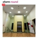 Plafoniera LED 11W XFORM rotunda 180mm IP40