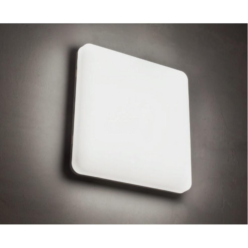 Plafoniera LED etansa 18W patrata 278mm XPLANNER 3 in 1