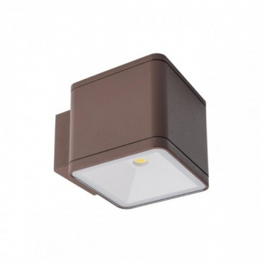 Aplica LED de exterior 2x6W BETA patrata iluminare sus jos