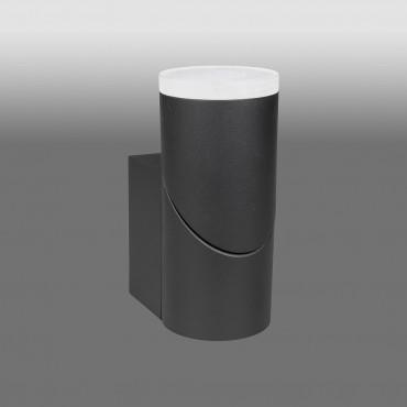 Aplica LED de perete 8W orientabila Evo Round Up SCHRACK antracit lumina calda
