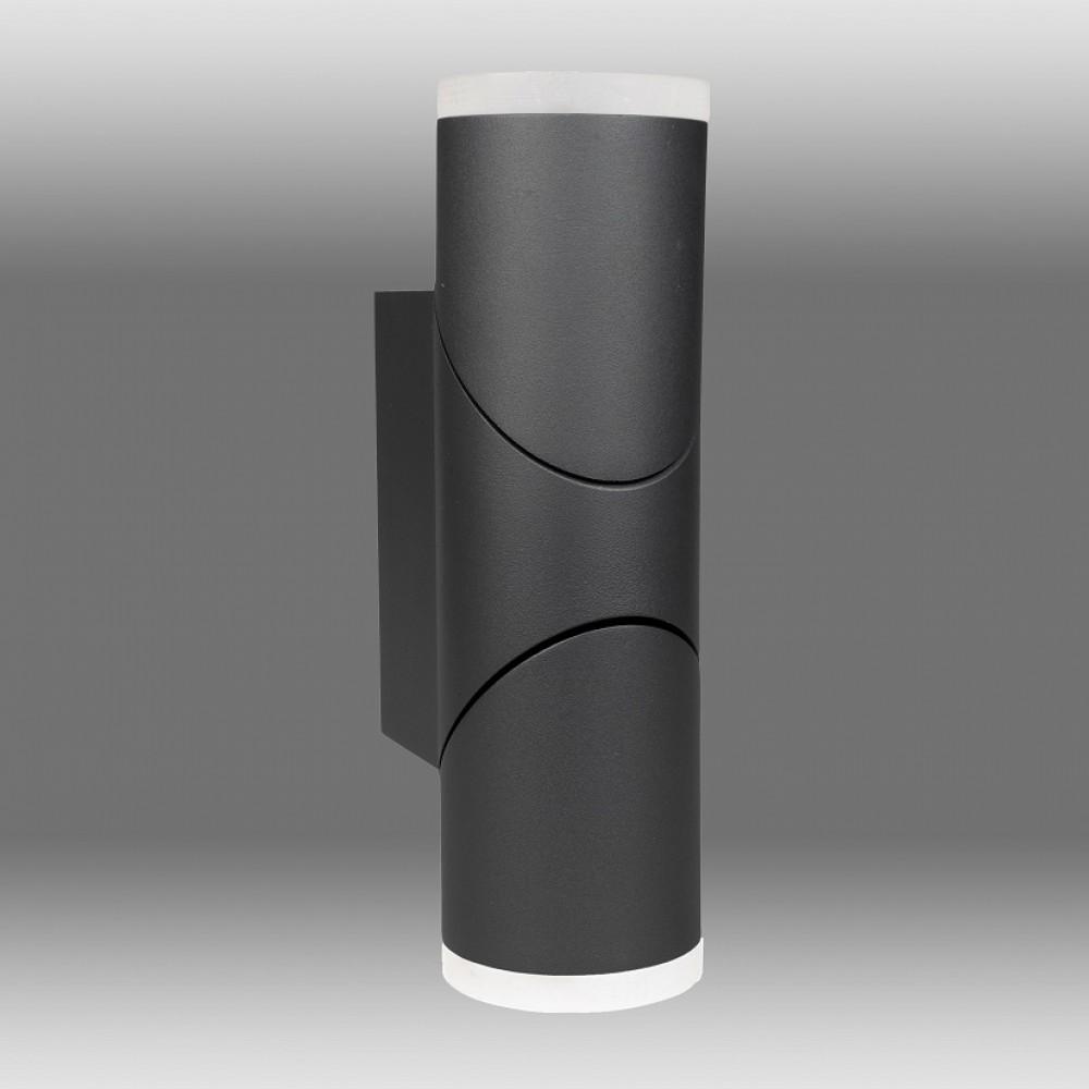 Aplica LED de perete 12.5W orientabila Evo Round SCHRACK iluminare sus/jos antracit lumina calda