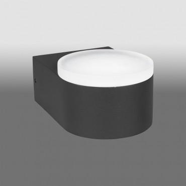 Aplica LED de exterior 11W ZELDA SCHRACK iluminare sus antracit lumina calda
