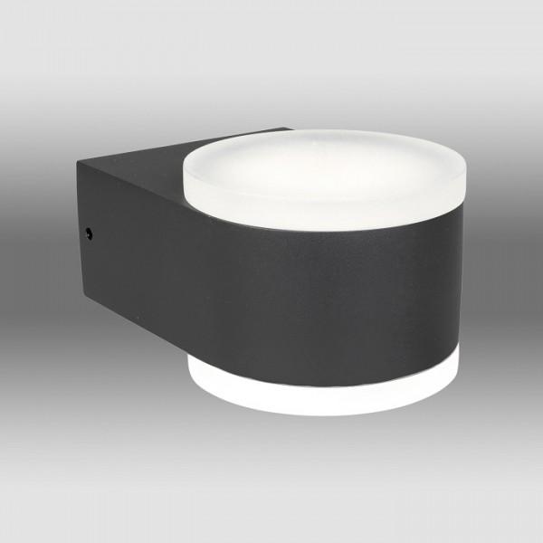 Aplica LED de exterior 12.5W ZELDA SCHRACK iluminare sus jos antracit lumina calda