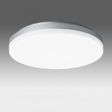 Plafoniera LED dimabila 27W rotunda 270mm SCHRACK ELEGANCE Corp Argintiu Alb Cald