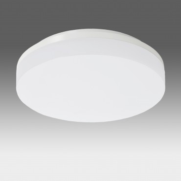 Plafoniera LED dimabila 15W rotunda 220mm SCHRACK ELEGANCE Corp Alb Alb Neutru