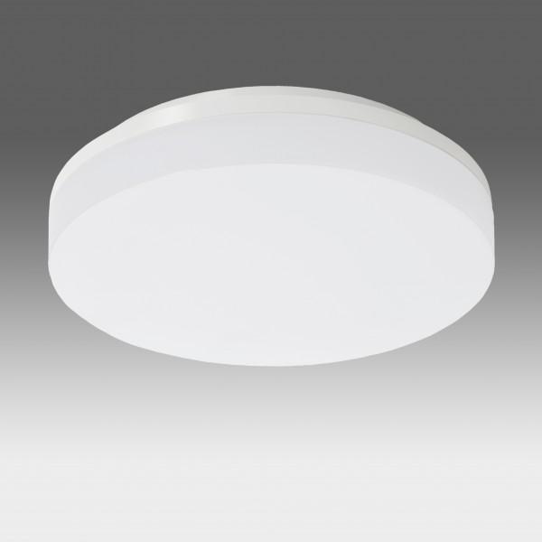 Plafoniera LED dimabila 15W rotunda 220mm SCHRACK ELEGANCE Corp Alb Alb Cald