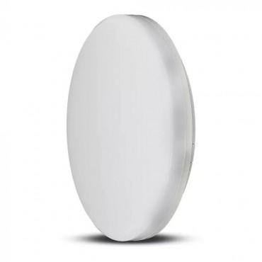 Plafoniera LED rotunda 15W 100lm/W cip Samsung lumina calda IP44