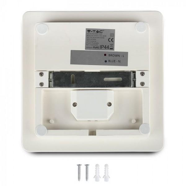 Plafoniera LED 25W Corp Patrat Alb Rece