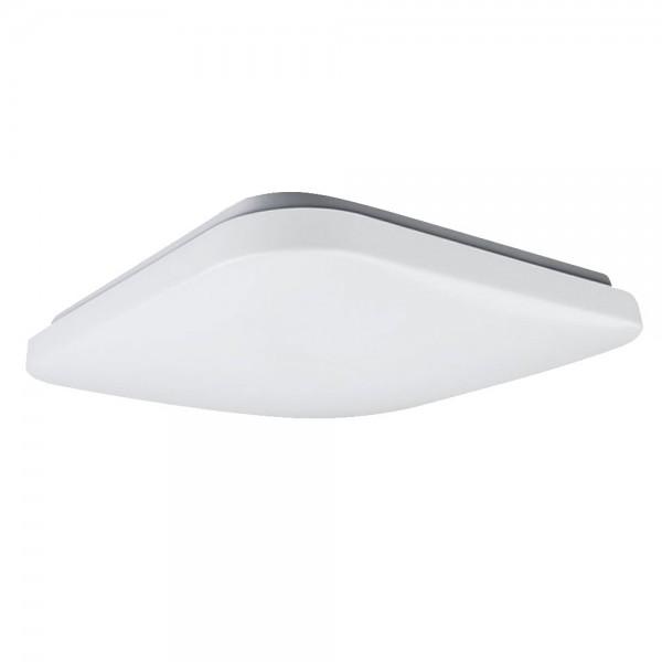 Aplica LED de tavan 20W patrata Alb Cald