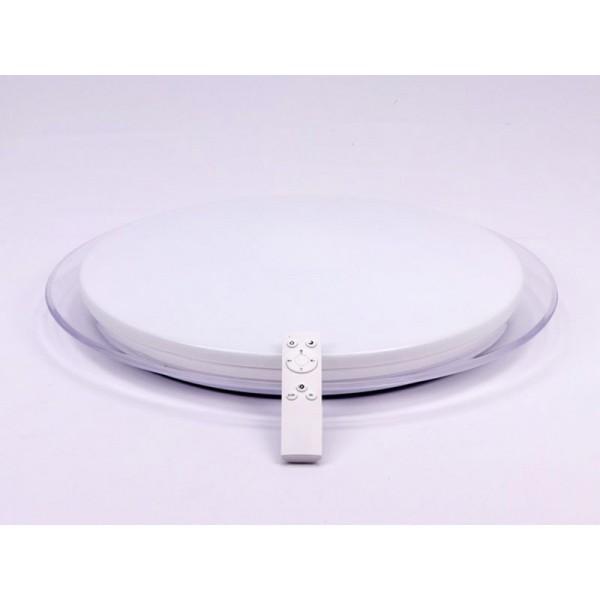 Plafoniera LED 60W 500mm aspect instelat cu telecomanda dimabila 3 in 1
