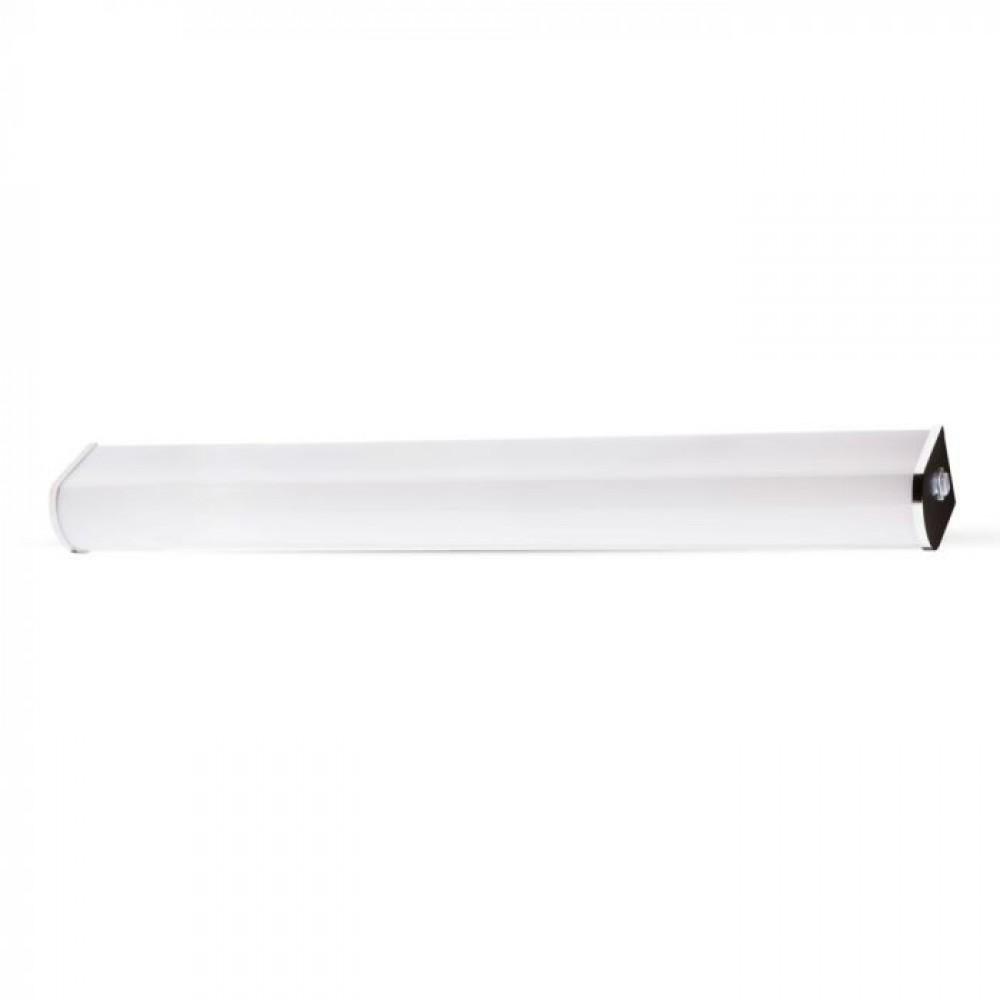 Corp de iluminat cu LED 10W crom pentru oglinda cu intrerupator Alb Rece