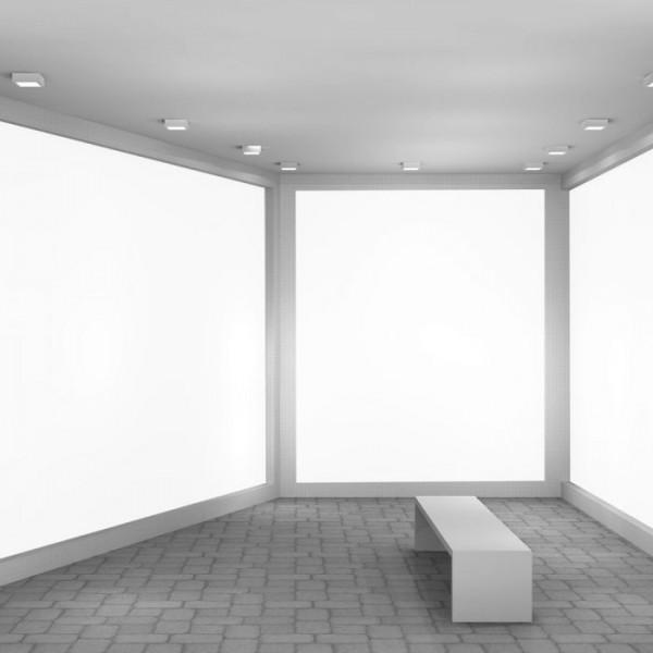 Aplica LED de tavan 6W patrata Alb Neutru
