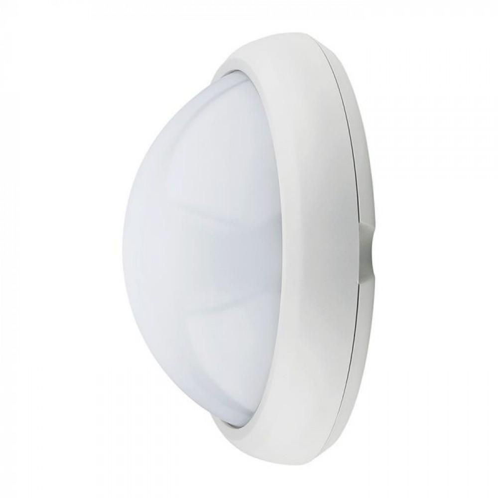 Plafoniera LED 12W Corp Rotund Alb IP66 Alb Rece